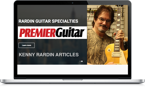 Kenny Rardin Premier Guitar Articles